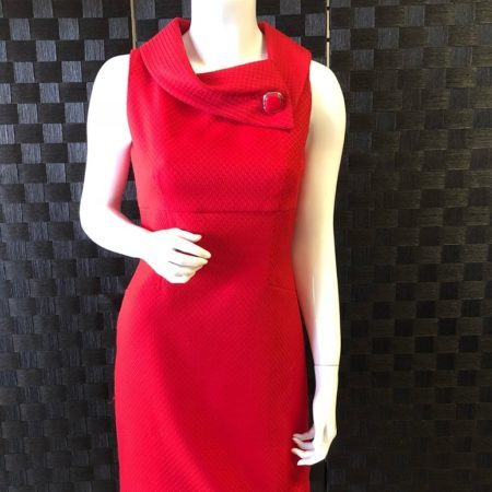 ELIE TAHARI Red Dress