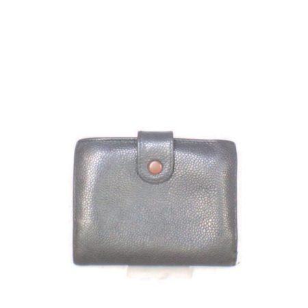 CHANEL Black Caviar Leather Wallet Item6936 b