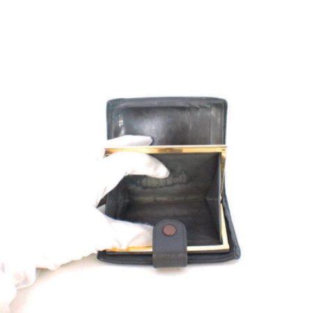 CHANEL Black Caviar Leather Wallet Item6936 f