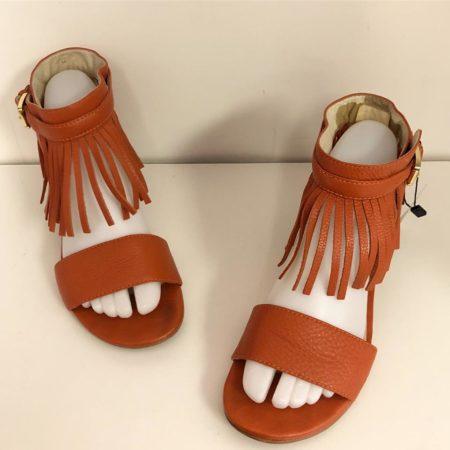 MICHAEL KORS Fringe Sandals 8413 a