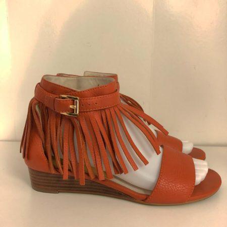 MICHAEL KORS Fringe Sandals 8413 b