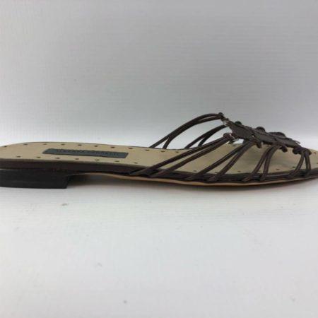 ALBERTA FERRETI Brown Sandals US 7.5 Eur 37.5 7018 e