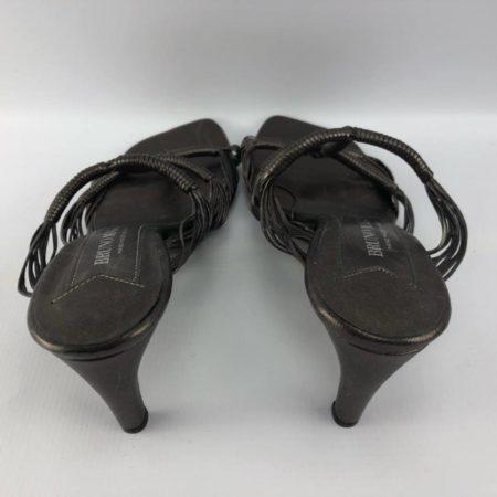 BRUNO MAGLI Bronze Heels US 7.5B Eur 37.5B 3963 e