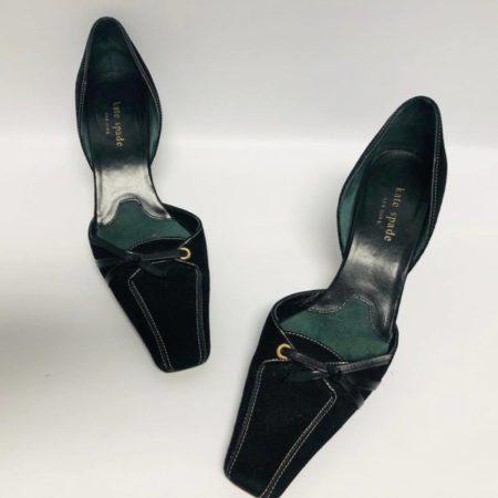 KATE SPADE Black Heels US 7 Eur 37 3862 a