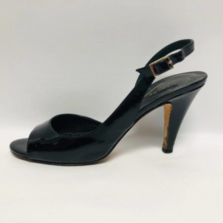 KATE SPADE Black Open Toe Heels US 6 Eur 36 2085 c
