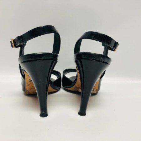 KATE SPADE Black Open Toe Heels US 6 Eur 36 2085 d
