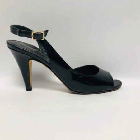 KATE SPADE Black Open Toe Heels US 6 Eur 36 2085 e