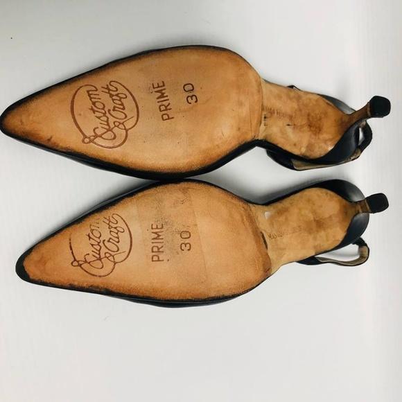 MANOLO BLAHNIK Black Heels Size US 6 Eur 36 1140 e