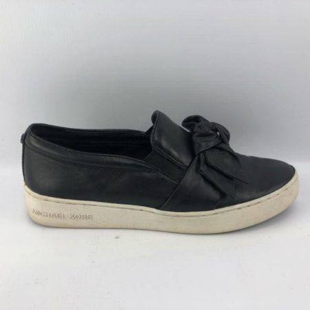 MICHAEL KORS Black Sneakers US 7 Eur 37 9589 e