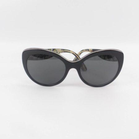 DOLCE GABBANA Flowers Black Sunglasses 9614 g