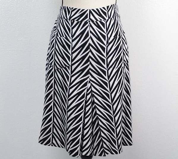 DVF DIANE VON FURSTENBERG Skirt Size 12 7398 a