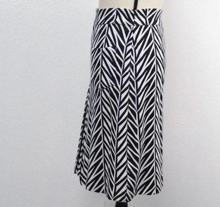DVF DIANE VON FURSTENBERG Skirt Size 12 7398 e