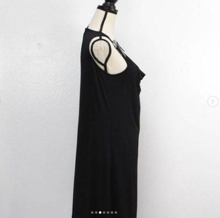 MICHAEL KORS Belt Straps Dress Size L 9377 c