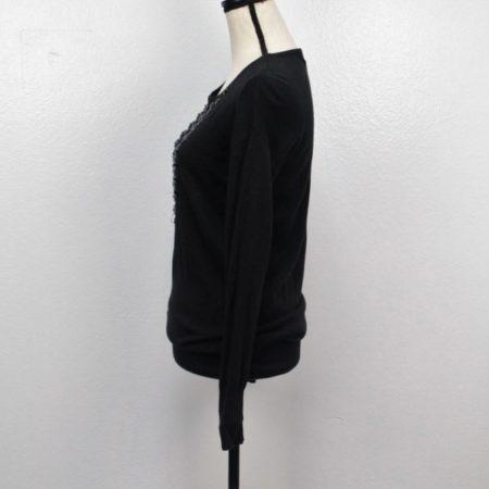 MICHAEL KORS Black Sweater Size XS 7921 e