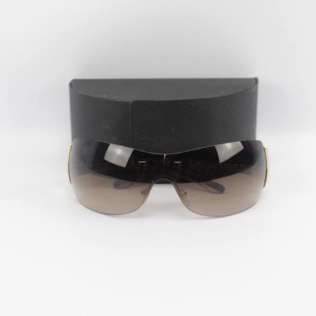 PRADA Brown Gold Sunglasses 7238 a