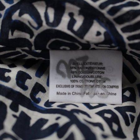 TORY BURCH Navy Blue White Skirt size 8 8721 g
