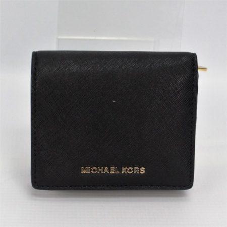 MICHAEL KORS Small Black Wallet 8770 a