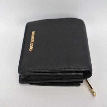 MICHAEL KORS Small Black Wallet 8770 d