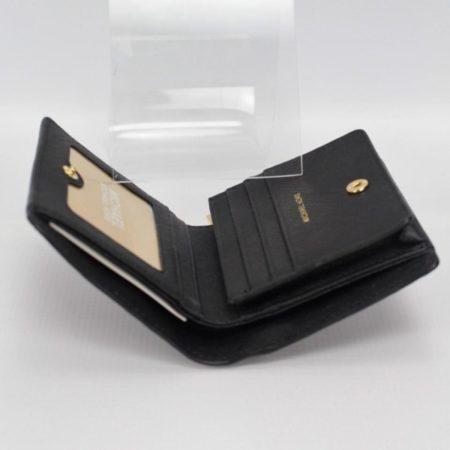 MICHAEL KORS Small Black Wallet 8770 g