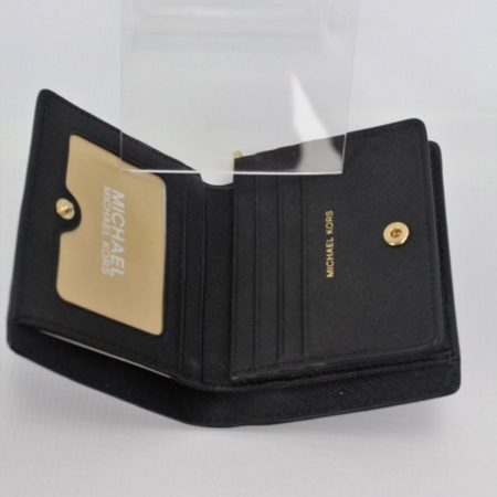 MICHAEL KORS Small Black Wallet 8770 h
