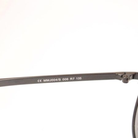MARC JACOBS Black Aviator Sunglasses Item10368 d