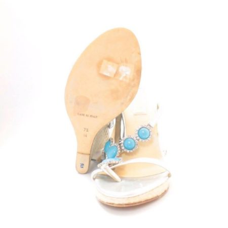 MICHAEL KORS Turquoise Wedges 6831 g