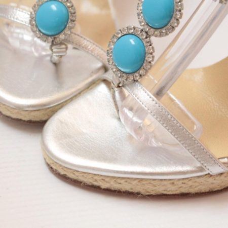 MICHAEL KORS Turquoise Wedges 6831 h