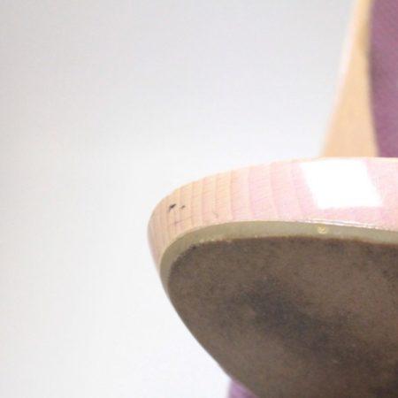 SALVATORE FERRAGAMO Lilac Sandal Platform Heels Size USA 8.5 Euro 38.5 Item8964 i