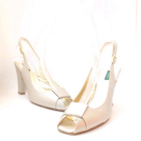 VALEA FIRENZE Slingback Grey Heels 12624 a