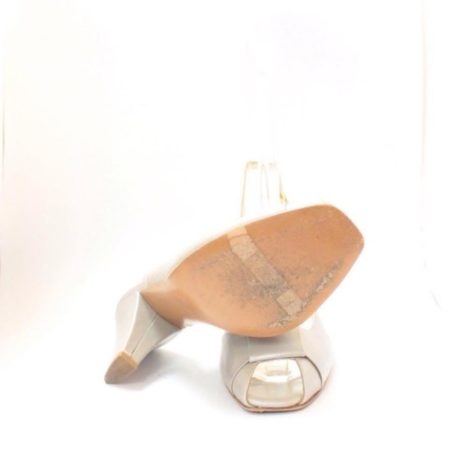 VALEA FIRENZE Slingback Grey Heels 12624 c