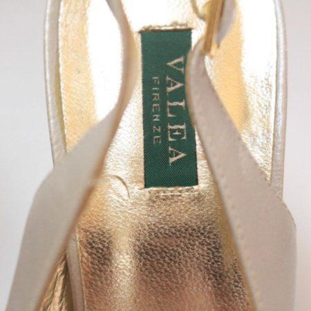 VALEA FIRENZE Slingback Grey Heels 12624 f