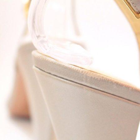 VALEA FIRENZE Slingback Grey Heels 12624 g