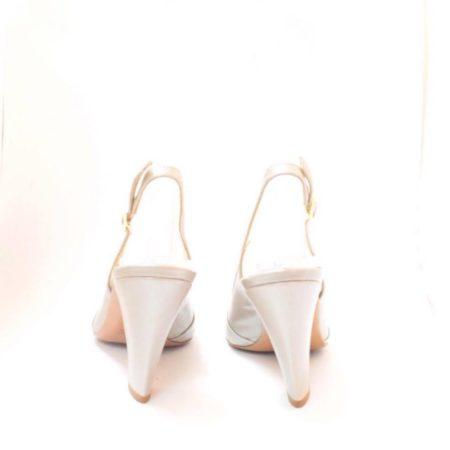 VALEA FIRENZE Slingback Grey Heels 12624 h
