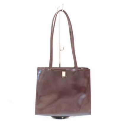FURLA Maroon Leather Shoulder Bag Item3787 a