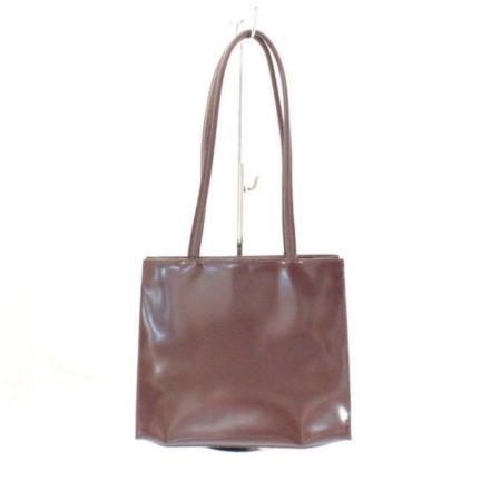 FURLA Maroon Leather Shoulder Bag Item3787 b