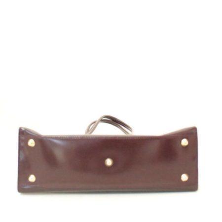 FURLA Maroon Leather Shoulder Bag Item3787 c