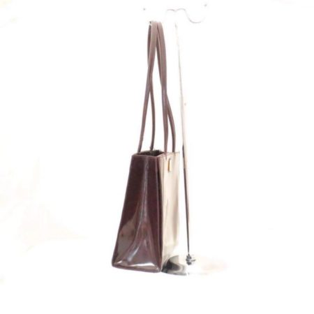 FURLA Maroon Leather Shoulder Bag Item3787 d
