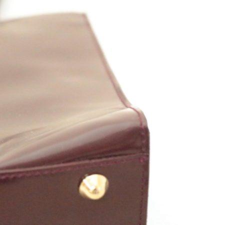 FURLA Maroon Leather Shoulder Bag Item3787 g