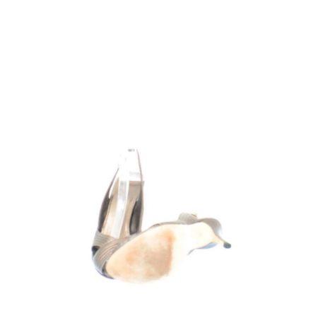 GUCCI Metallic Brown Strappy Heels Size USA 7 Euro 37 Item14456 f