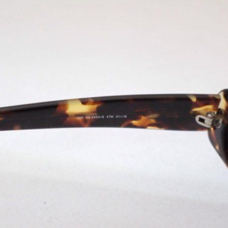 GUCCI Rectangular Brown Tortoise Sunglasses Item3765 b