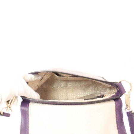 KATE SPADE Purple Leather Crossbody Item12489 e
