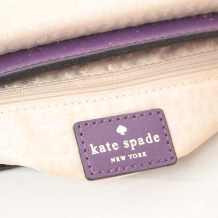 KATE SPADE Purple Leather Crossbody Item12489 g