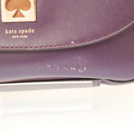 KATE SPADE Purple Leather Crossbody Item12489 h
