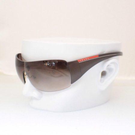PRADA Designer Pilot Brown Sunglasses Item7024 a