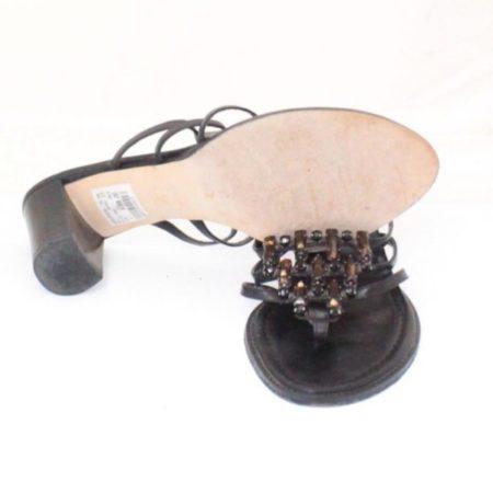 STUART WEITZMAN Black Heels Size USA 8 Euro 38 Item13533 c