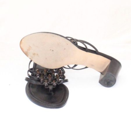STUART WEITZMAN Black Heels Size USA 8 Euro 38 Item13533 d