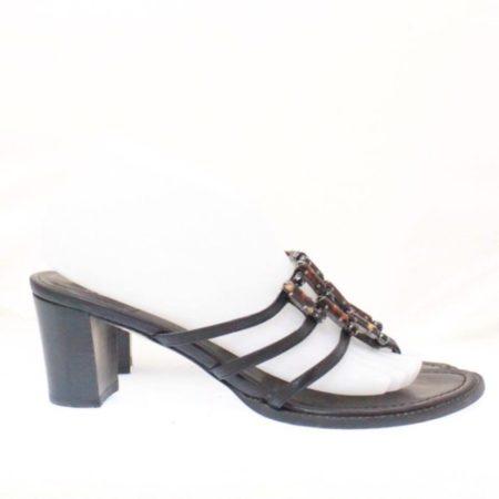 STUART WEITZMAN Black Heels Size USA 8 Euro 38 Item13533 e