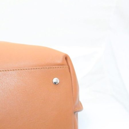 TODS Orange Leather Tote Item13529 g