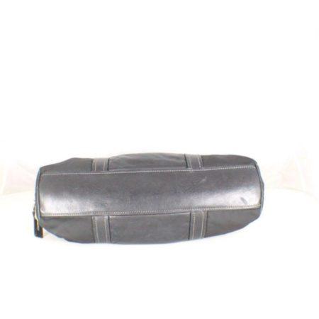 PRADA Black Leather Tessuto Hydra Shoulder Bag Item14939 d