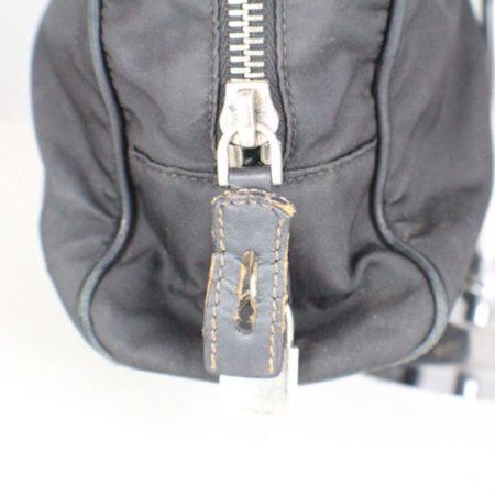 PRADA Black Leather Tessuto Hydra Shoulder Bag Item14939 f